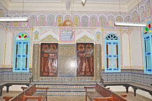 A synagogue in Sefrou, Morocco. Photo Credit: Yeudameir, Wikipedia Commons
