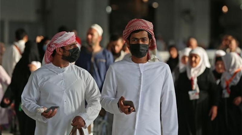 Men wearing masks in fight against coronavirus in Saudi Arabia. Photo Credit: Fars News Agency