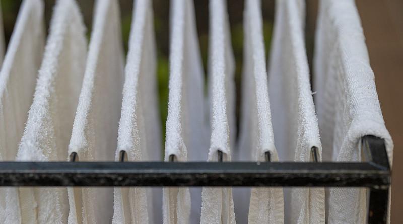 Towel Drying Hotel Hairdresser Wet Moisture