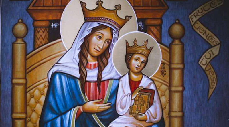 Our Lady of Walsingham. Credit: Behold2020.