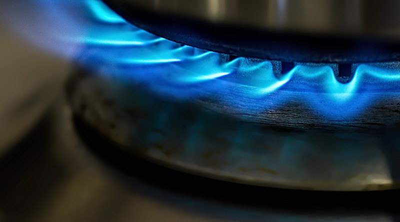 natural Flame Gas Stove Cooking Blue Heat Hot Energy