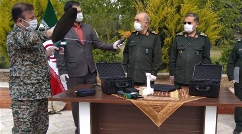Iran's IRGC unveils Coronavirus Remote Detector. Photo Credit: Tasnim News Agency