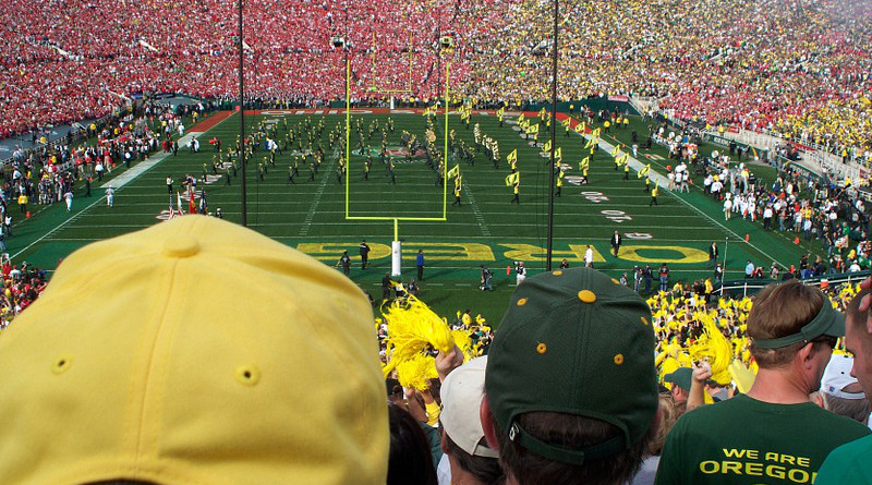 Oregon Pasadena California Rose Bowl Football Sports