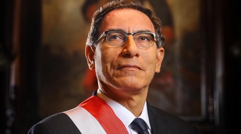 Official presidential portrait of Peru's President Martin Vizcarra Cornejo. Photo Credit: Presidencia de la Republica del Perú