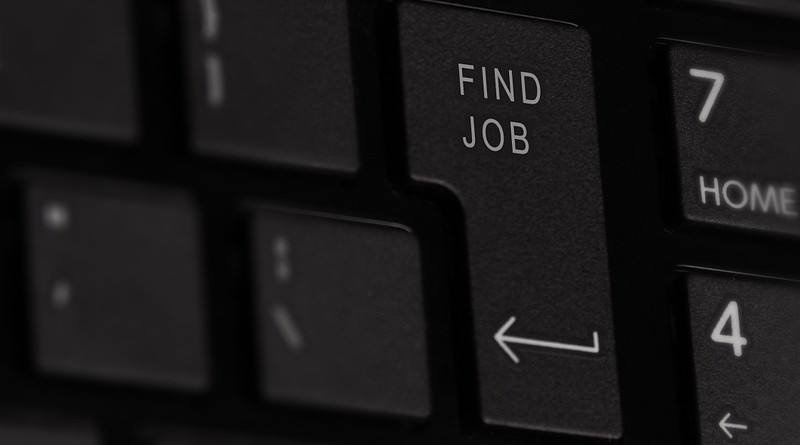Jobs Unemployment Keyboard Button Key Entering Input Internet Data
