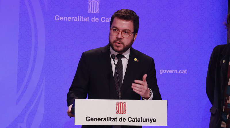 Pere Aragonès, Vice president and economy minister of the Government of Catalonia