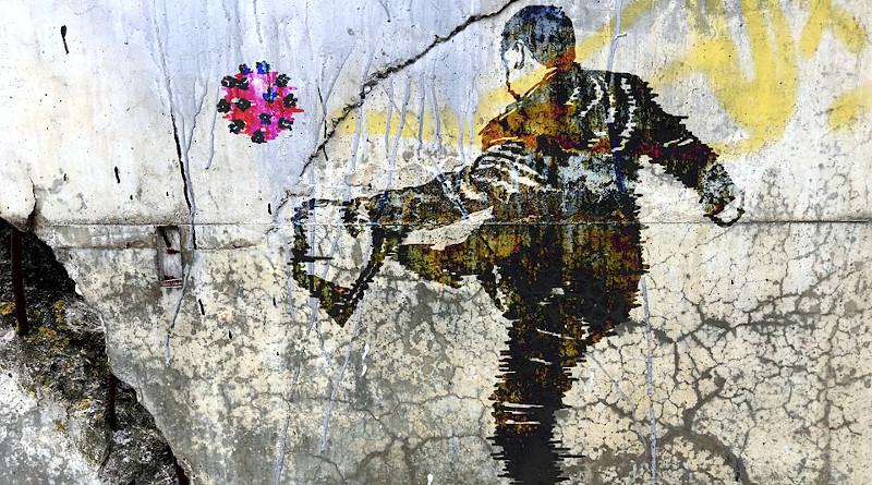 Graffiti Wall Urban Painting Paint Artistic Covid-19 Coronavirus
