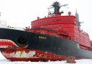 Russia's nuclear icebreaker Yamal. Photo Credit: Pink floyd88, Wikipedia Commons