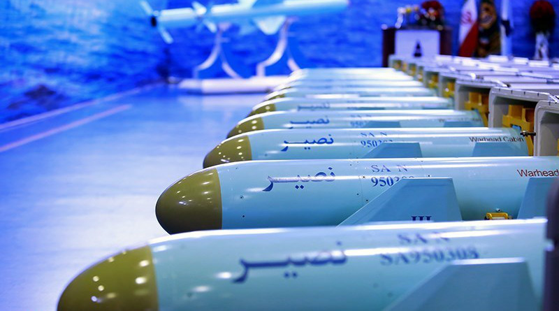 Iranian missiles. Photo Credit: Tasnim News Agency