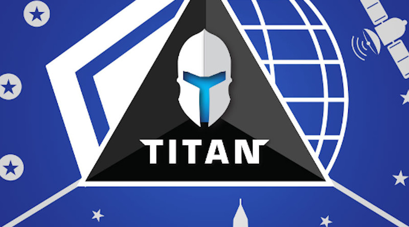 Detail of logo for Titan (Technology for Innovation and Testing on Accredited Networks)