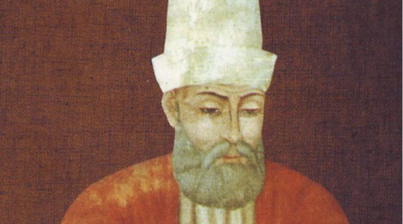 Hunkar Hadji Bektach Veli (1248 - 1341), the founder of the Bektashi Way. Credit: Unknown author, Wikimedia Commons