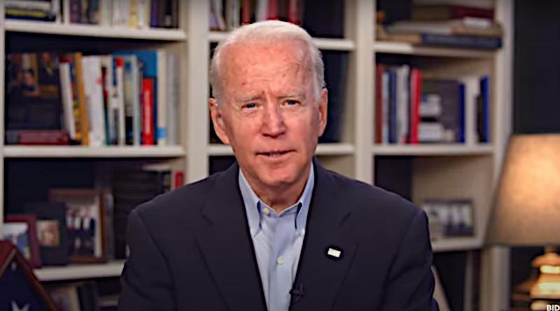 Democratic presidential nominee Joe Biden. Photo Credit: Joe Biden For President video screenshot
