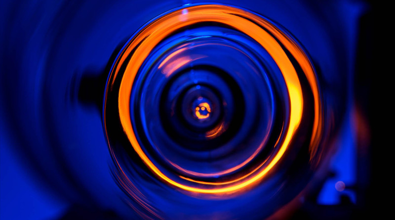 High-mass objects in the Universe are not perfect lenses. As they deflect light, they create distortions. The resulting images appear like looking through the foot of a wine glass. © Roberto Schirdewahn