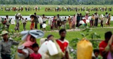 Displaced Rohingya in Myanmar. Photo Credit: Tasnim News Agency