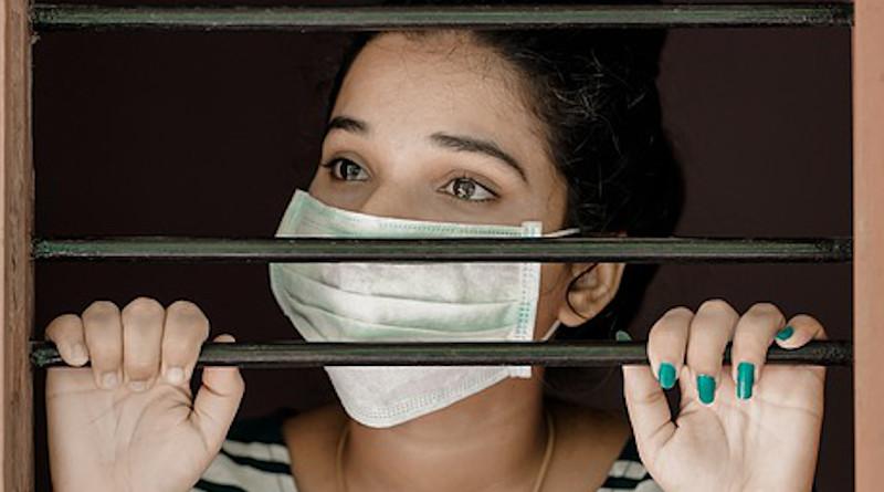 Mask Woman Girl Covid19 Home Coronavirus Covid-19
