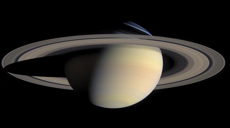 Planet Saturn Saturn's Rings Solar System Aurora