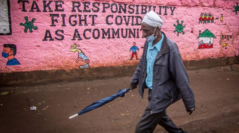 Africa Man Covid-19 Community coronavirus