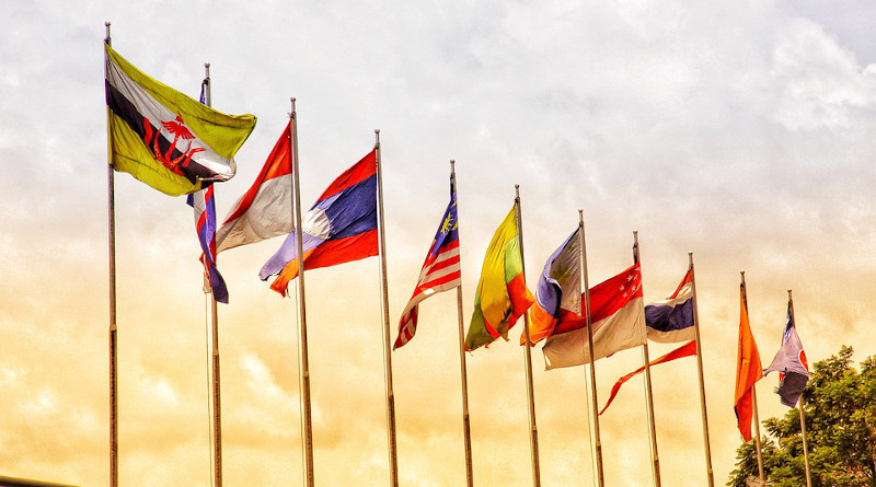 flags Asean Indo Vietnam Ensign Federal Southeast Asia