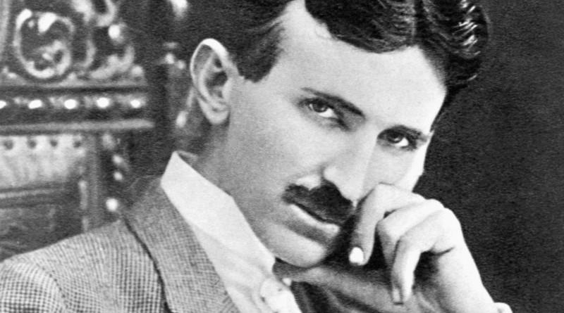Nikola Tesla. Photo Credit: Author Unknown, Wikipedia Commons