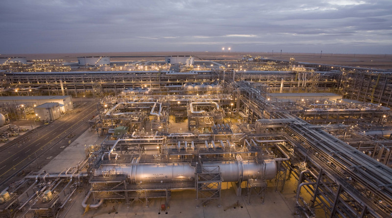 Saudi Aramco's Khurais Oil Plant. Photo Credit: Saudi Aramco