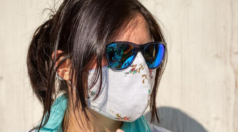 Respiratory Mask Covid-19 Mask Face Coronavirus Woman