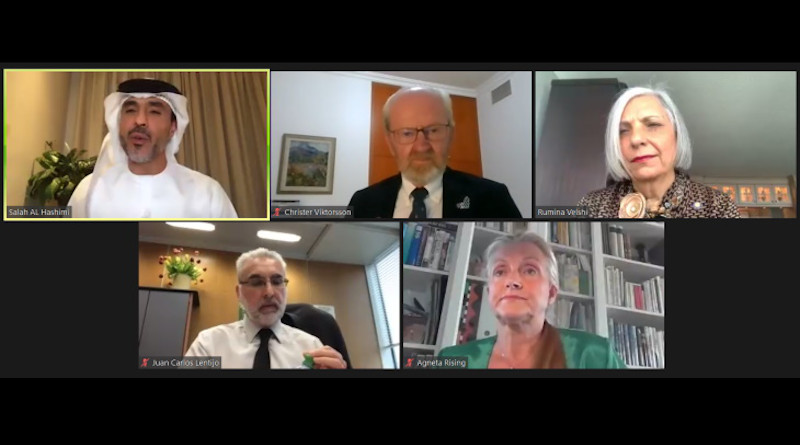 The panellists in the webinar (Image: FANR)