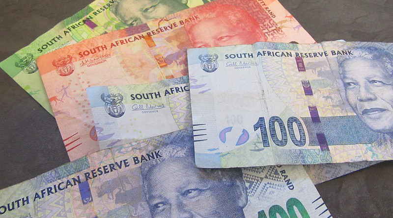 Money South Africa Nelson Mandela Rand Currency Banknotes