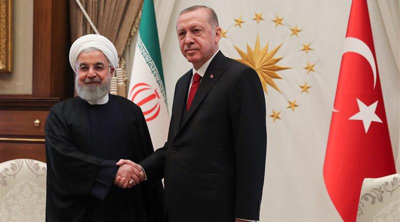 File photo of Iranian President Hassan Rouhani and his Turkish counterpart Recep Tayyip Erdogan. Photo Credit: Tasnim News Agency