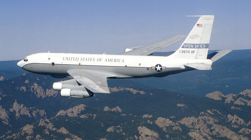 A USAF Boeing OC-135B Open Skies. Photo Credit: US Air Force