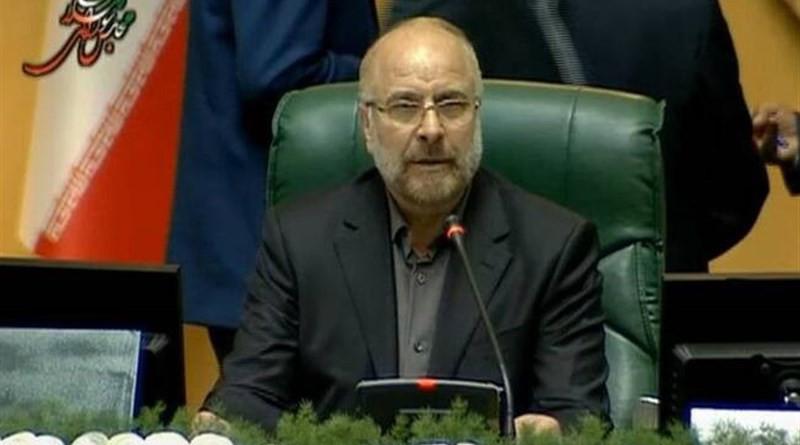 Iranian Parliament Speaker Mohammad Baqer Qalibaf. Photo Credit: Tasnim News Agency