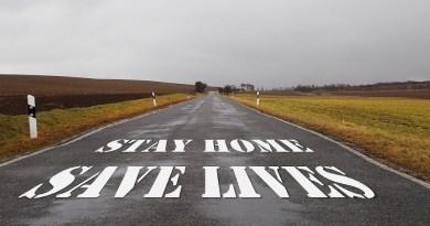 Coronavirus Rural Road Empty Pandemic Covid-19 Stay Home