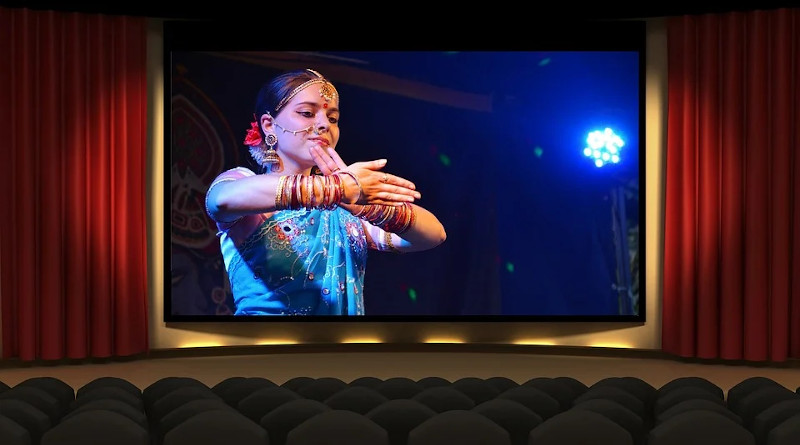 Theater Bollywood Movie Cinema India Theatre Film Woman