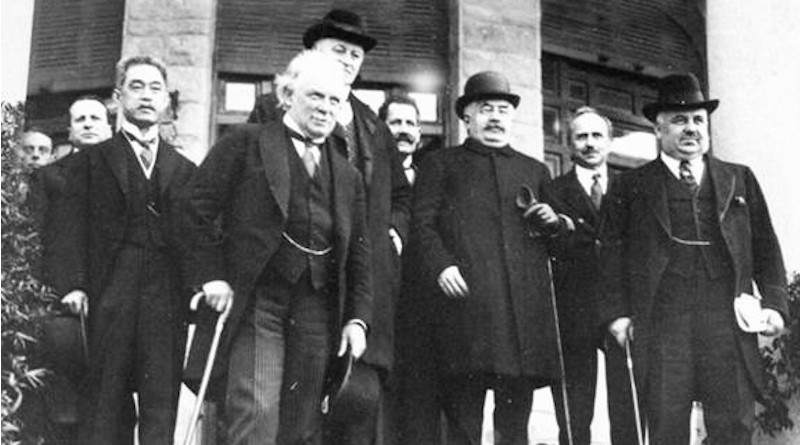Leaders attending the San Remo Conference, in April 1920. Source: Wikimedia Commons