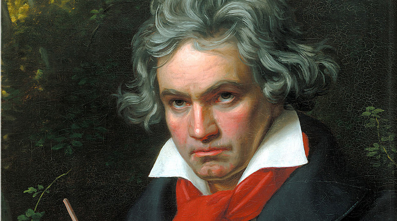 Ludwig van Beethoven. Portrait by Joseph Karl Stieler, 1820