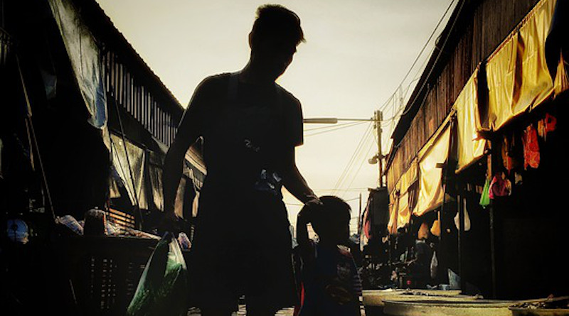 Thailand Father And Son Family Railroad