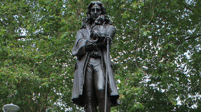 Statue Of Edward Colston. Photo Credit: Photo cropped, by Simon Cobb, Wikipedia Commons