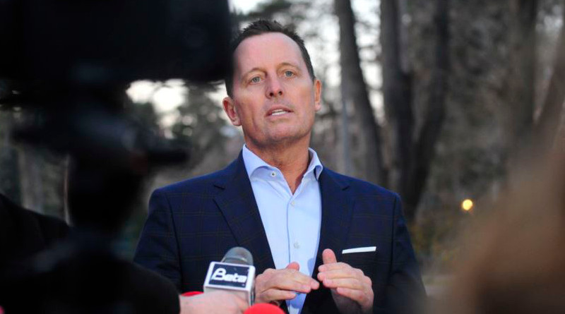 The U.S. special envoy for Serbia and Kosovo negotiations, Richard Grenell. File Photo: Vesna Andic, RFE/RL