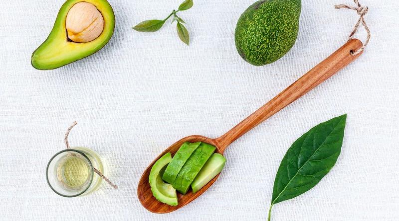Alternative Aromatherapy Avocado Background Beauty oil