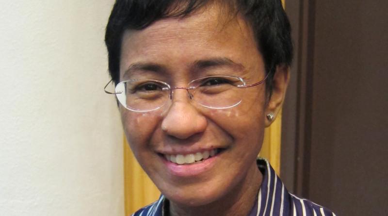 Maria Ressa. Photo Credit: Joshua Lim (Sky Harbor), Wikipedia Commons