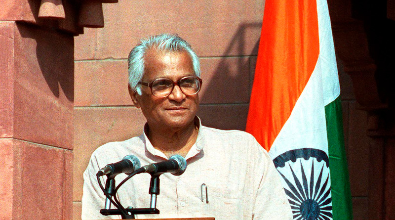 India's George Fernandes. Photo Credit: Cropped DoD photo by R. D. Ward.