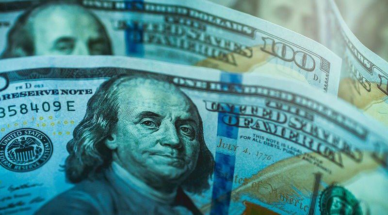 Money Dollar American Cash Banknotes Monetization