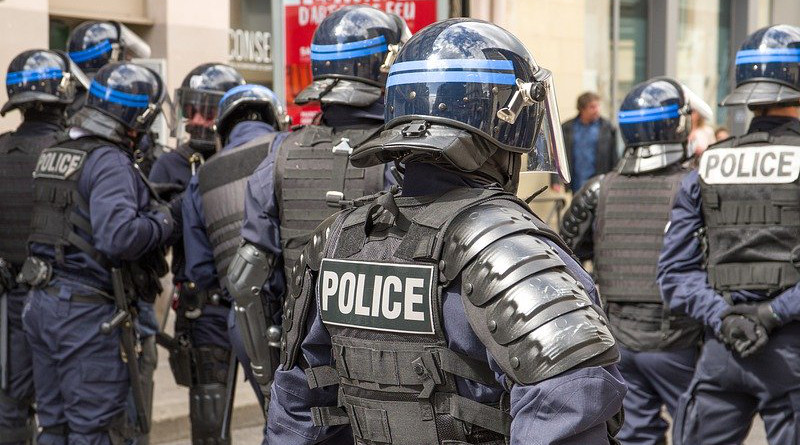 France Police Security Event Helmets