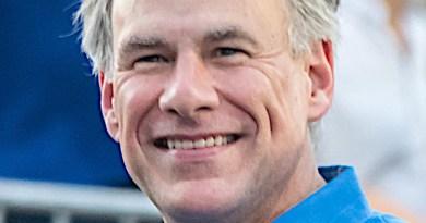 Texas Governor Greg Abbott. Photo Credit: J Dimas, Wikipedia Commons