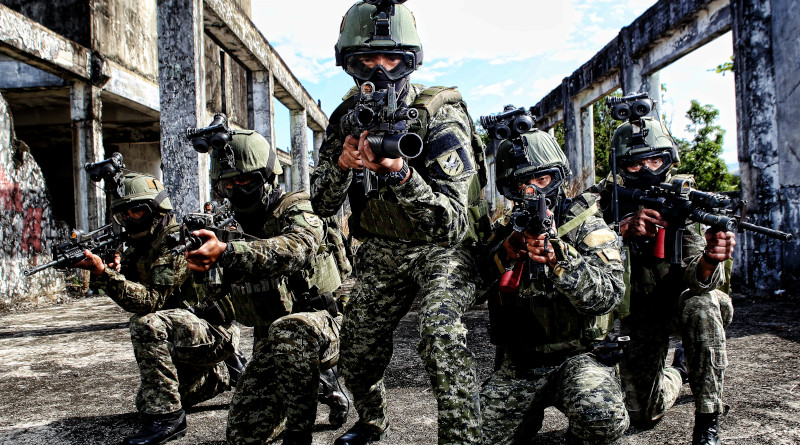 Promotional photo for Philippine Army. Photo Credit: Philippine Army