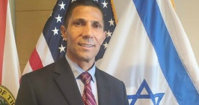 Israeli diplomat Ishmael Khaldi pictured at US consulate in Miami. (Photo: Courtesy of Israeli Consulate)