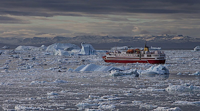 The risks of heavy fuel oil to the Arctic. Credit: HFO-Free Arctic