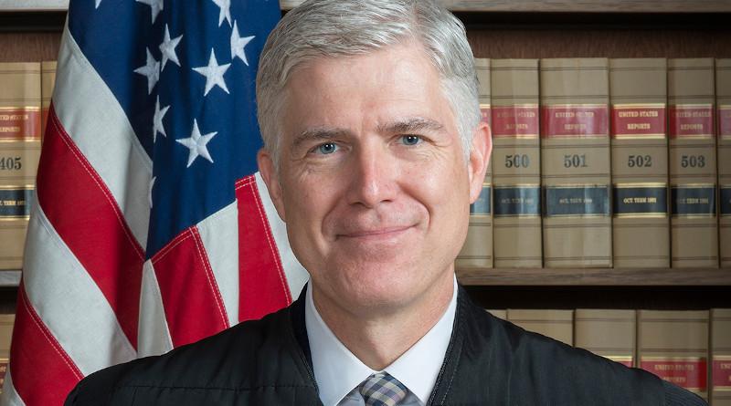 Associate US Supreme Court Justice Neil M. Gorsuch. Photo Credit: Franz Jantzen, Wikipedia Commons
