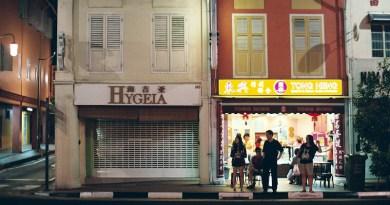 Street Life People Singapore Night Street City