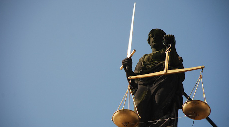 Lady Justice Case-Law Right Scale Court
