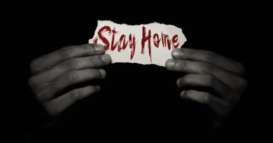 Stay At Home Covid-19 Coronavirus Pandemic Virus Lockdown